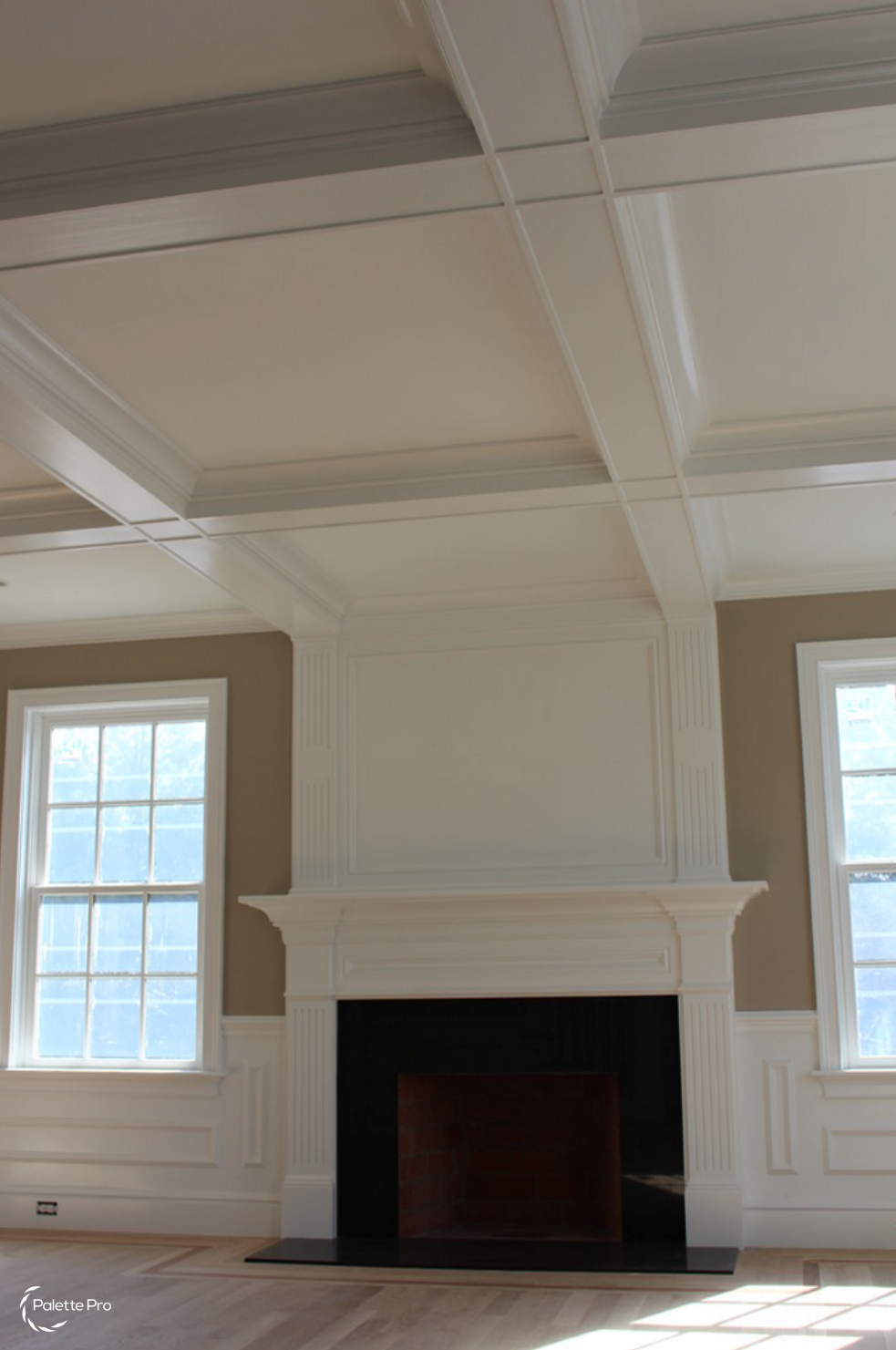 Coffered Ceilings Carpentry & Painting 01