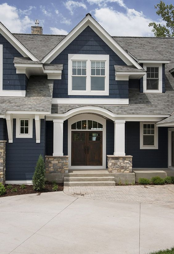How to pick exterior house colors for your home palette pro for Picking house colors for exterior