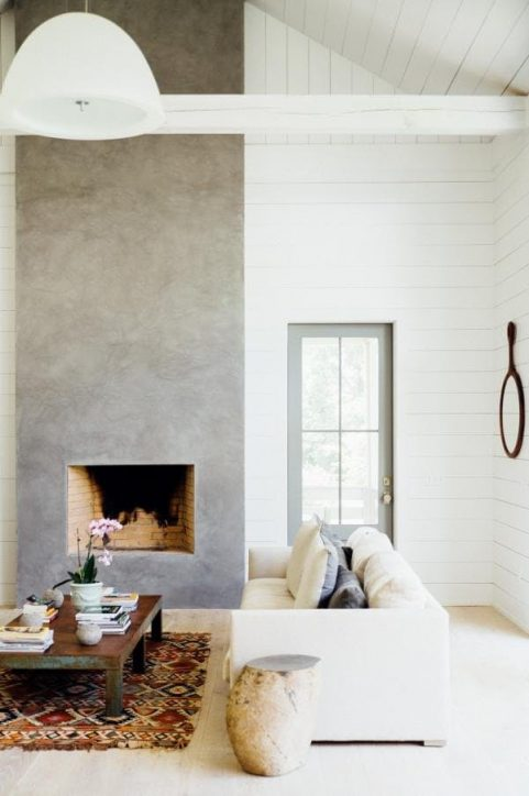living room shiplap