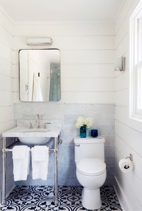 shiplap bathroom